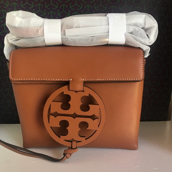 388ddc2e8115 Tory Burch Miller Crossbody (Aged Camello)